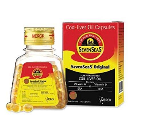 Seven Seas Cod Liver Oil – 100 capsules For Sale