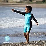 Charlie Banana Baby Long Sleeve Swim Jumpsuit with