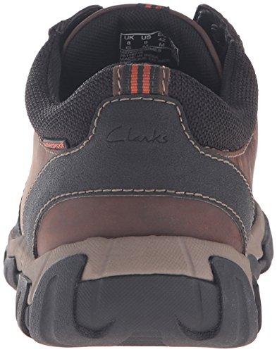 CLARKS Mens Walbeck Edge Oxford Brown Leather kJfJstCT