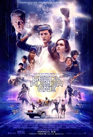 A4 Ready Player One 8 Movie Poster Canvas Picture Art Print Premium Quality A0