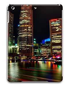 iPad Air Cases & Covers -Singapore Night Custom PC Hard Case Cover for iPad Air