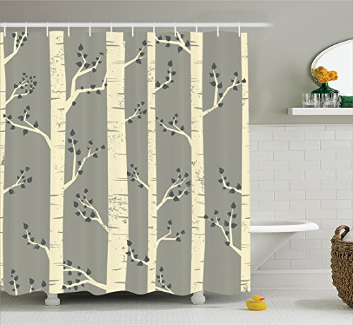 Ambesonne Branches Contemporary Illustration Accessories