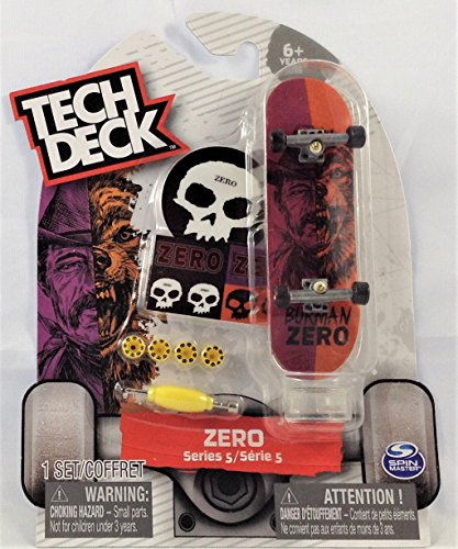 Tech Deck ZERO Series 5 Wolf / Man Burman # 20086585