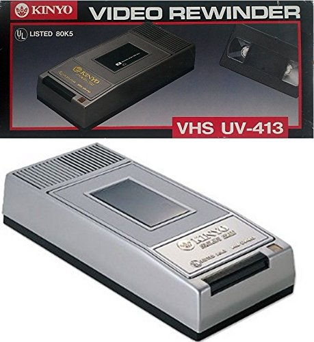 KINYO UV-413 1-Way VHS Rewinder