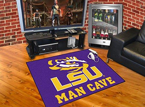 Lsu Rugs - Brand New Louisiana State University LSU Man Cave All-Star Rug 34