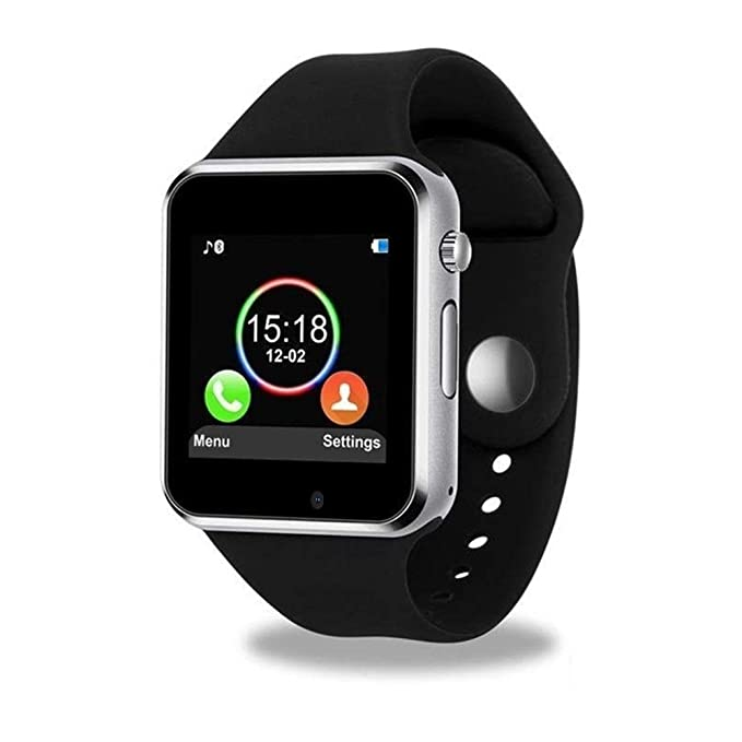Smart Watch, Sazooy Bluetooth Touchscreen Smart Wrist Watch Smartwatch Phone Fitness Tracker with SIM SD Card Slot Camera Pedometer Compatible iOS ...