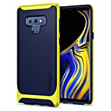 Spigen Funda Note 9, Funda Galaxy Note 9, Neo Hybrid - Premium Reinforced Dual Frame Clear and Slim Protection for Samsung Galaxy Note 9 (2018) - Ocean Blue