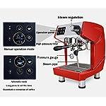 He-art-Macchina-per-caff-Espresso-di-Grande-Formato-di-Colore-Rosso-Brewer-Mocha-Macchina-per-caff-Espresso-per-Cappuccino-Commerciale-con-Display-per-Bottoni-di-LatteRed