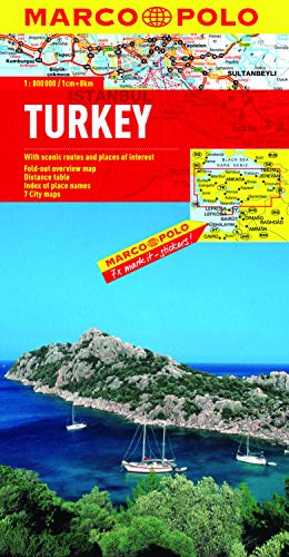 Turkey Marco Polo Map (Marco Polo Maps) (Map Of Europe Middle East And Asia)