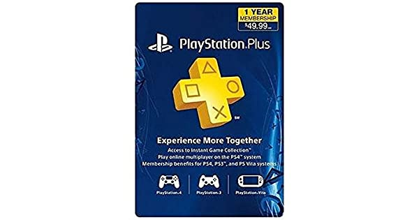 Amazon.com: Sony PS Plus 12 Mes tarjeta de ...