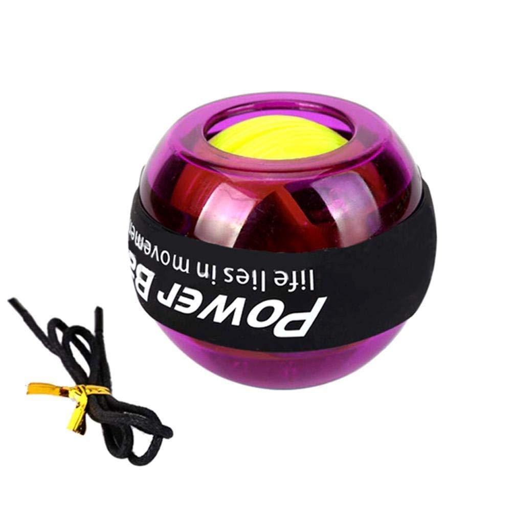 WMM - Wrist ball Models Gyroscopes - Wrist Strengthener, Grip Strengthening Gyro Ball (Color : Purple) by WMM - Wrist ball