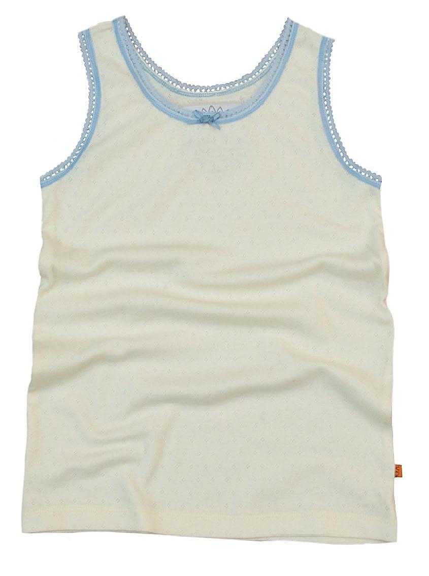 Girls Lounge Vest - Cream