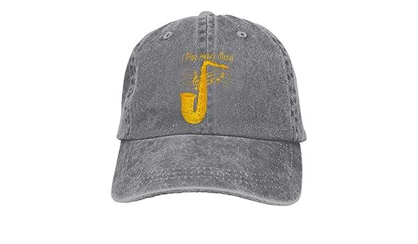 Presock Gorras De Béisbol I Play Heavy Metal Tuba Music Cowboy ...