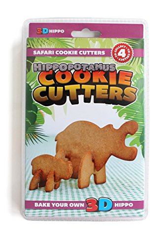 (SUCK UK) cookie cutter safari (Hippo)
