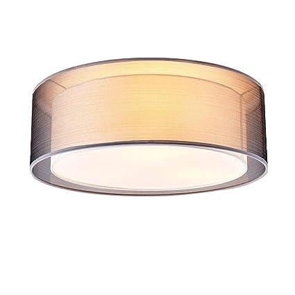 HONY-LIGHT Lámpara de Techo Redonda Moderna Elegante ...