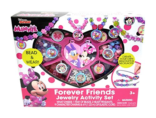 - Minnie Mouse Disney Junior Forever Friends Jewelry Box Kit Activity Play Set Gift