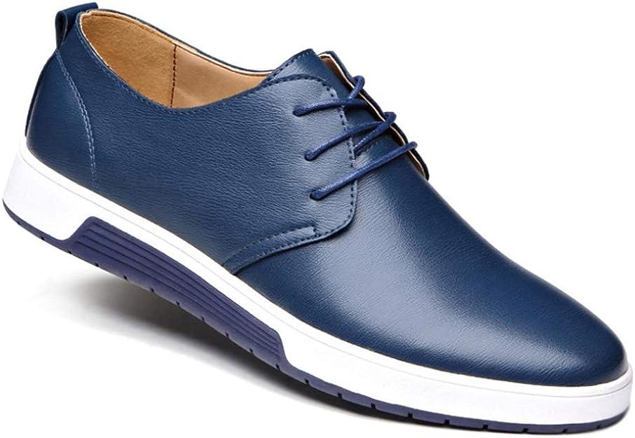 Gtagain Negocios Oxford Zapatos Hombre Hombres Cuero
