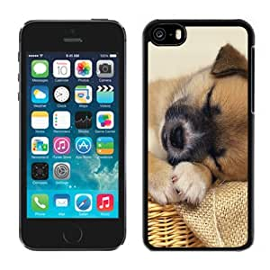 New Personalized Custom Designed For iPhone 5C Phone Case For Dapper Sleeping Dog Phone Case Cover