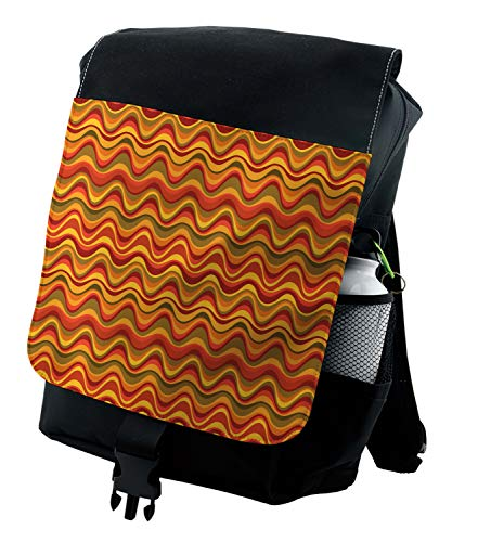 (Ambesonne Backpack, Desert Dune Pattern, Durable All-Purpose Bag)