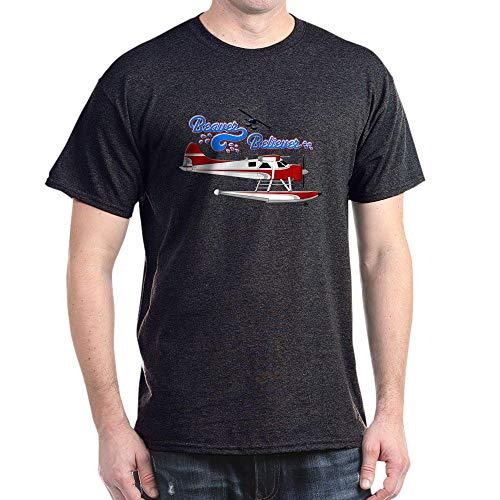 CafePress DHC2 Beaver Believer Dark T Shirt 100% Cotton T-Shirt - Beaver De Havilland