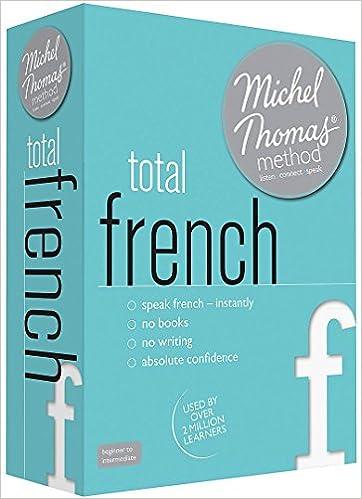 Michel thomas method total french language course.