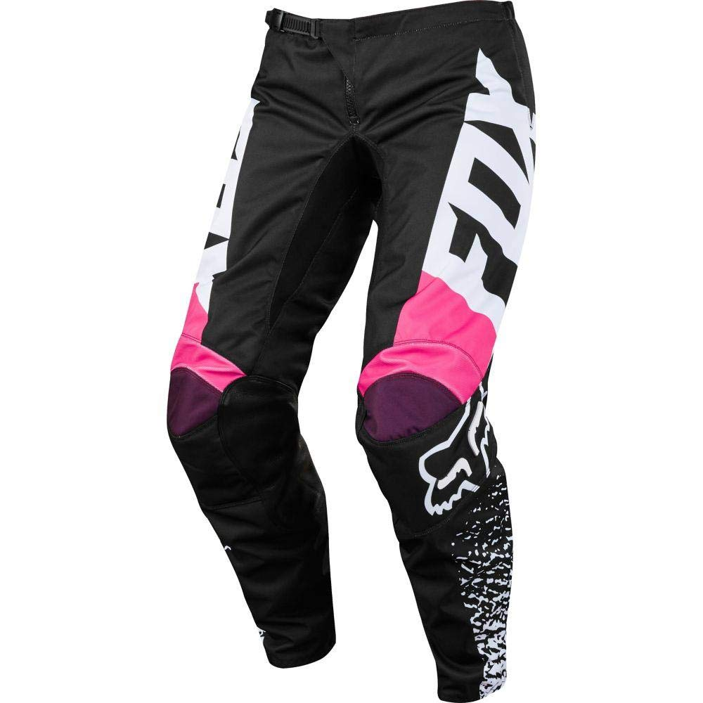 2018 Fox Racing Womens 180 Pants-Black//Pink-10 19439-285-10