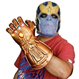 GREATCHILDREN Thanos Glove 6 LED Glittering gem Boys Men Toy PVC Toy Gloves for Birthday Party...