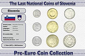 IMPACTO COLECCIONABLES Monedas PRE Euro de Eslovenia - 9 ...