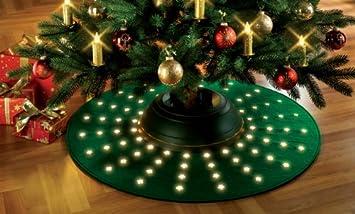Weihnachtsbaumteppich led