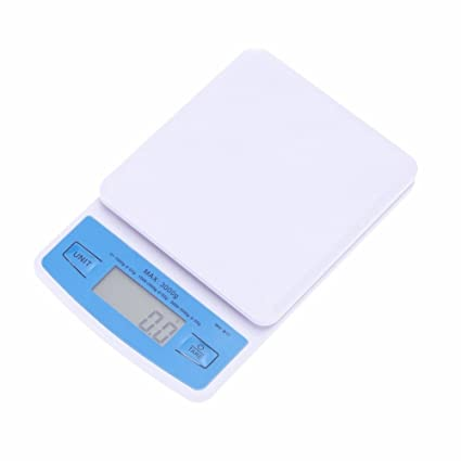 Fazycai Báscula de Cocina 3Kg/0.1G Mini Electronic Kitchen Scale Food Profesional Digital Pocket