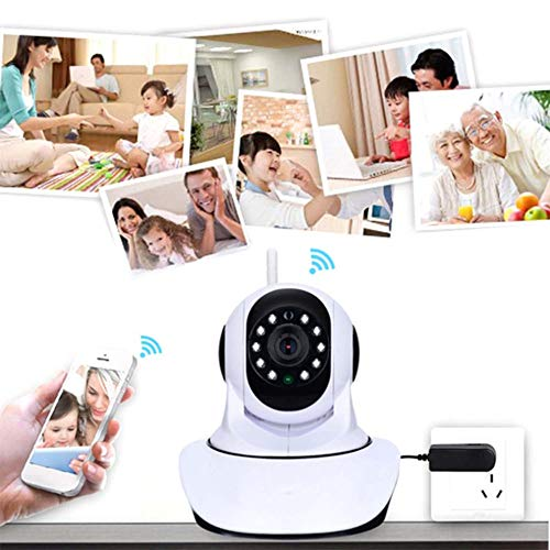 E.I.H. 720 HD Wireless WiFi IP Camera 1280720 HD Wireless WiFi IP Camera Household Baby Monitor TF Card Record Audio Video Surveillance Camera 5V 1.5A