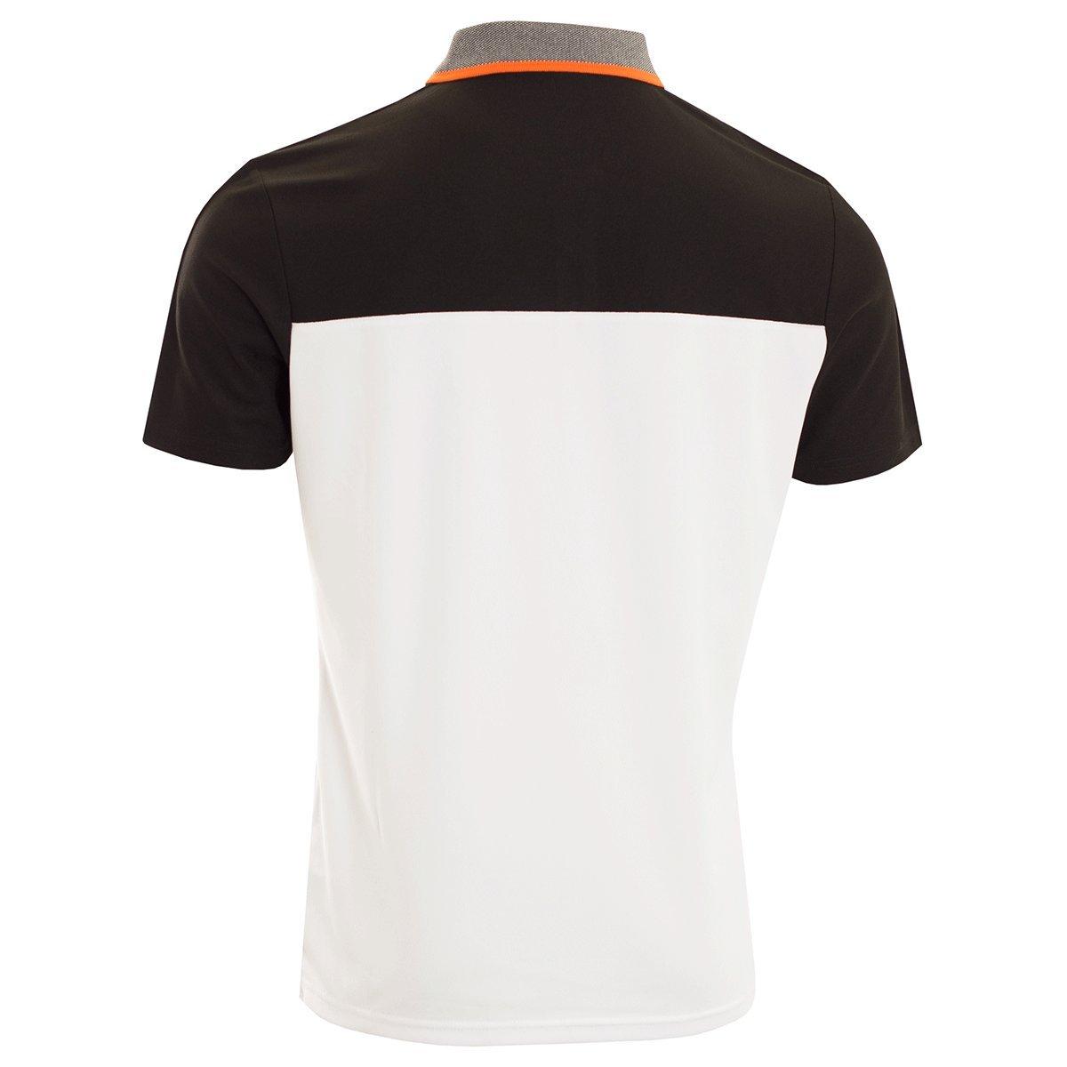 Calvin Klein - Polo - para Hombre Blanco Blanco/Negro XX-Large ...