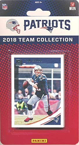 New England Patriots 2018 Donruss NFL Football Factory Sealed Limited Edition 13 Card Complete Team Set TOM BRADY, Rob Gronkowski, Sony Michel RC & Many More! WOWZZER! (Rob Gronkowski Football Card)