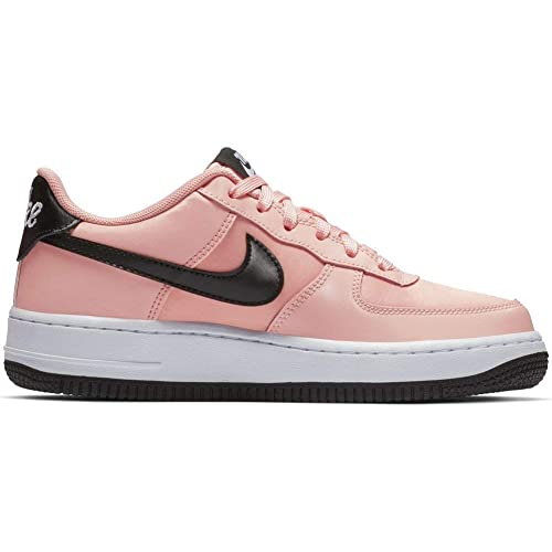 Zapatillas Nike Air Force 1 Vday (GS) Coral 35.5: Amazon.es: Zapatos y complementos