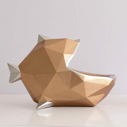 Escultura Figuras Estatuas Decoracion Nordic Lucky Fish Adornos De ...