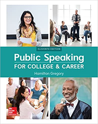 public speaking for college and career 11th ed. gregory h. (2018)