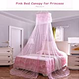 Yimii Round Dome Mosquito Net Princess Bed