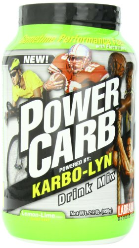 LABRADA NUTRITION Power Carb Gametime Karbolyn, Lemonlime, 2.2 Pound