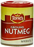 Tone's Mini's Nutmeg, Ground, 0.60 Ounce (Pack of 6) by Tone's