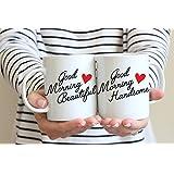 Good Morning Beautiful Good Morning Handsome Coffee Mug Set