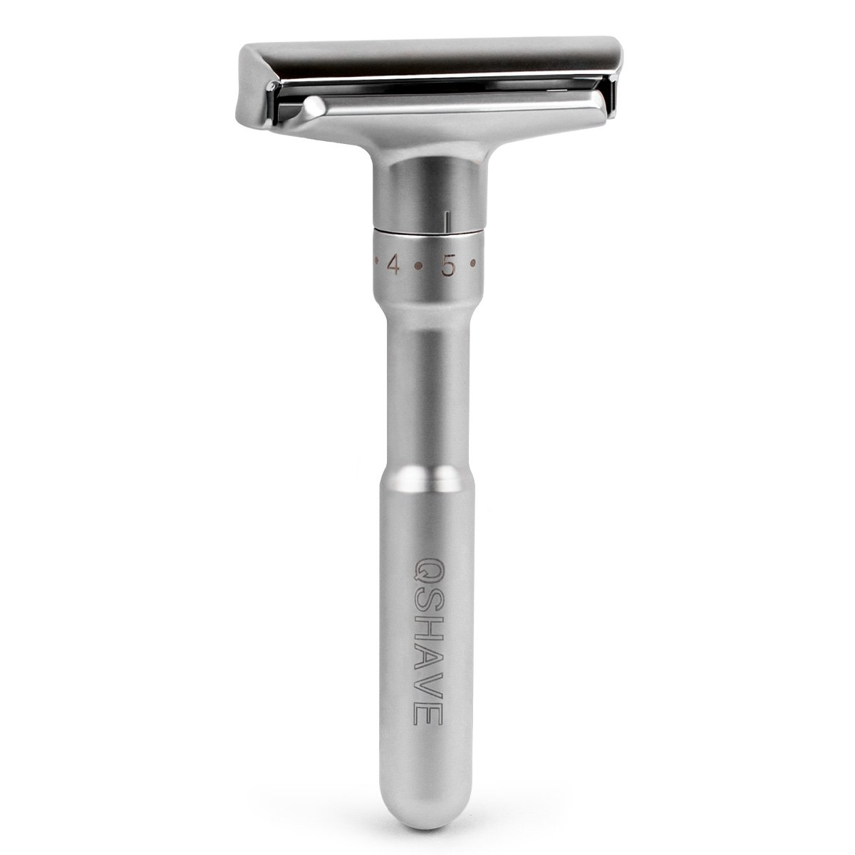 Qshave Adjustable Double Edge Safety Razor 700 (1 Razor And 1 Clean Brush) by Amazon