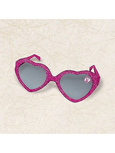 Glitter Heart Glasses Favors | Barbie Sparkle Collection | Party Accessory ()