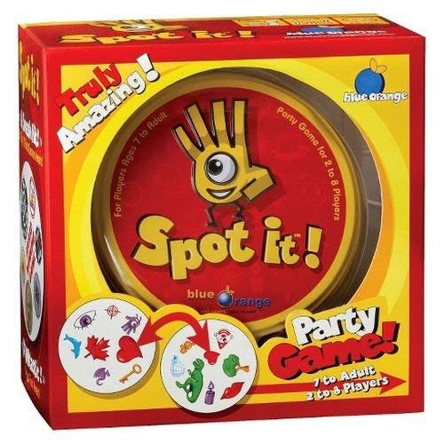 Spot-It Party Game (Color of Packaging May Vary)