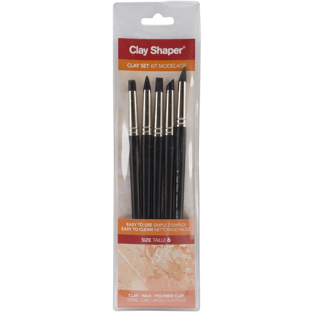 Forsline and Starr Modeling Tools assorted shapes No. 6 set of 5 by Forsline and Starr