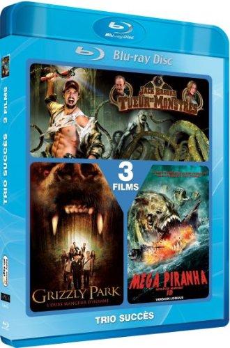 Jack Brooks: Monster Slayer / Grizzly Park / Mega Piranha - 2-Disc Set [ Blu-Ray, Reg.A/B/C Import - France ]