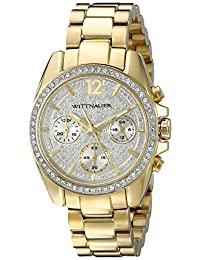 WITTNAUER Women's WN4043 16mm Stainless Steel Gold Bracelet Watch