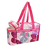 Glitter Collection Mumy And Baby Bag With Bottle Warmer Space Water Proof Btlprf01
