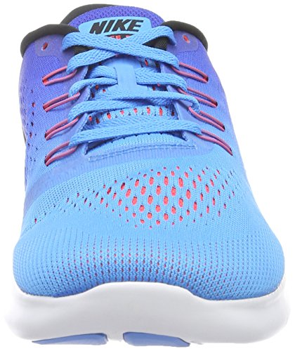 Nike Mens Free Rn Scarpa Da Corsa Blu Glow / Nero / Racer Blu Taglia 10 M Us