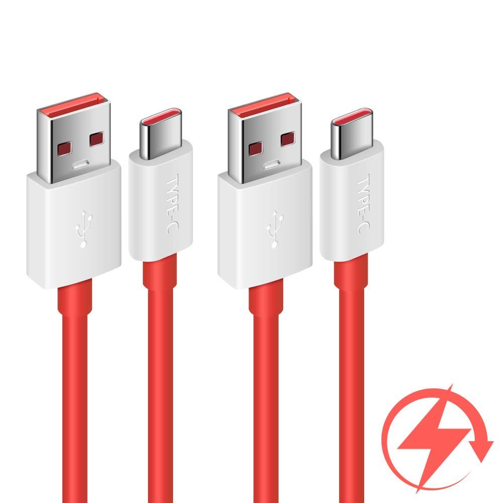Cooya Dash Charge Cable Ersatz Für Oneplus 7 Ladekabel Warp Charge Cable For Oneplus 7 Pro 7t 183 Cm 2pack Typ C Cable Dash Charging For Oneplus 6t 6 Oneplus 5t