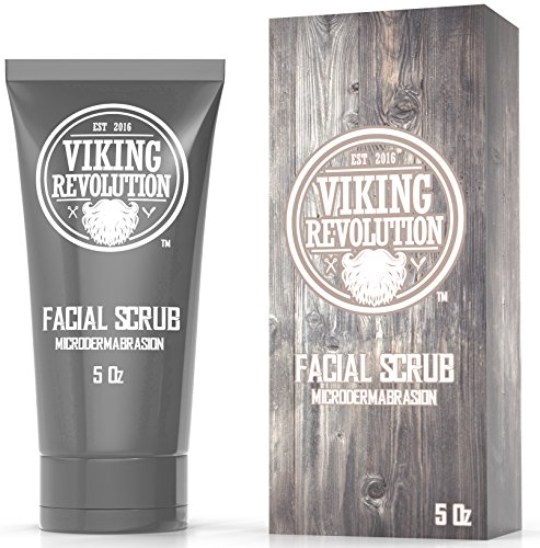 BEST DEAL Microdermabrasion Face Scrub for Men - Facial Cleanser for Skin Exfoliating, Deep Cleansing, Removing Blackheads, Acne, Ingrown Hairs - Men's Face Scrub for Pre-Shave